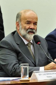 João Vaccari, na CPI da Petrobras (Foto: Agência Câmara)