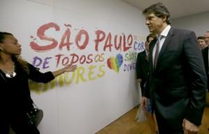 Prefeito Fernando Haddad inaugura Centro de Cidadania LGBT Paulo Pinto/Fotos Públicas