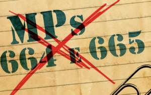 Imagem usada pela corrente petista, na campanha contra o ajuste fiscal.