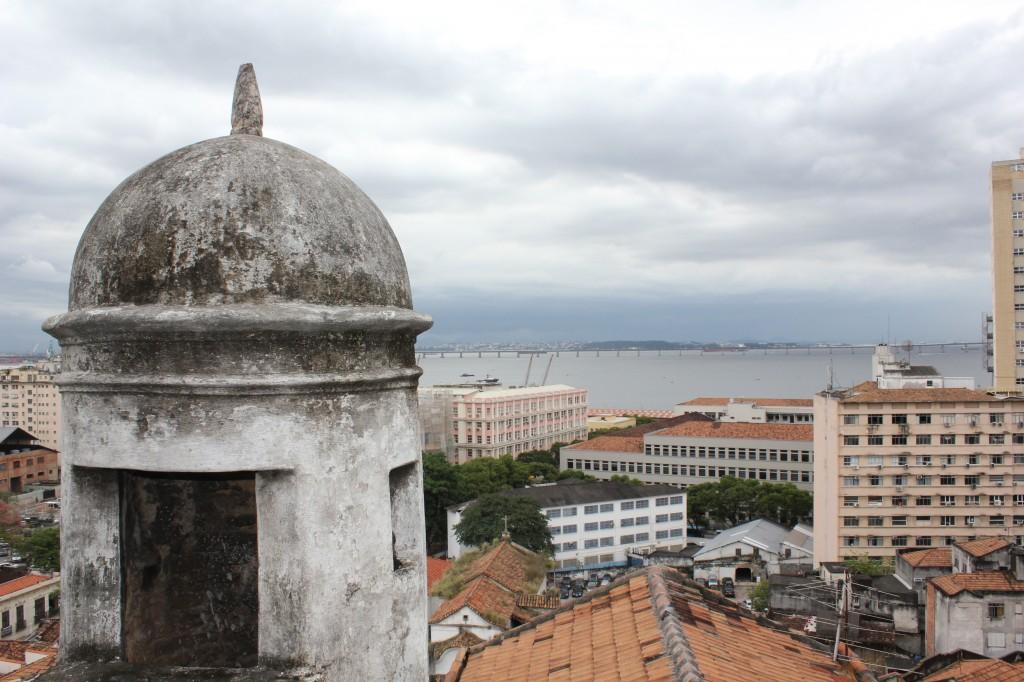 Baía de Guanabara vista da fortaleza da Conceição