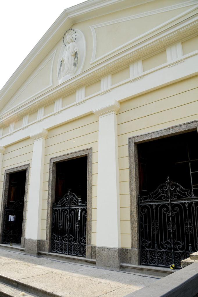 Fachada da entrada principal da Casa Daros (foto: Jacqueline Felix/Divulgação)