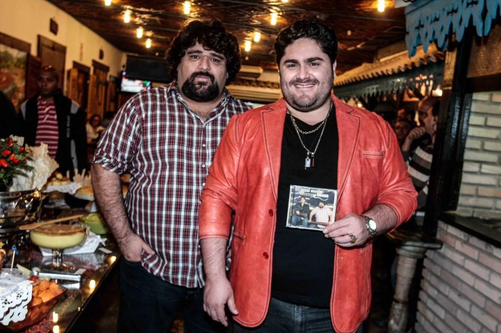 César Menotti e Fabiano (Foto: AgNews)