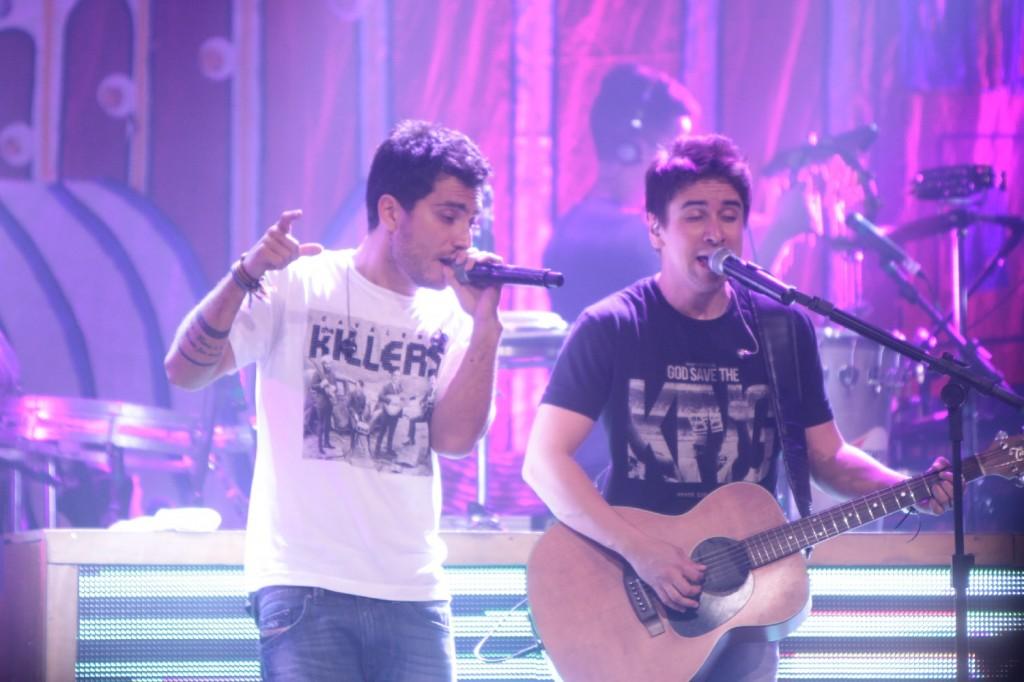 Bruninho e Davi (Foto: Fred Pontes/Divulgação)