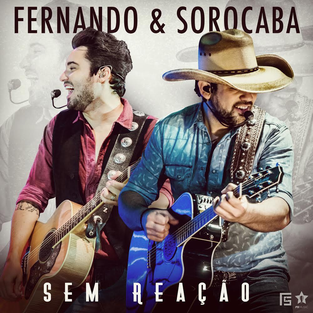 Capa do EP 'Sem Reação', de Fernando e Sorocaba (Foto: Divulgação)