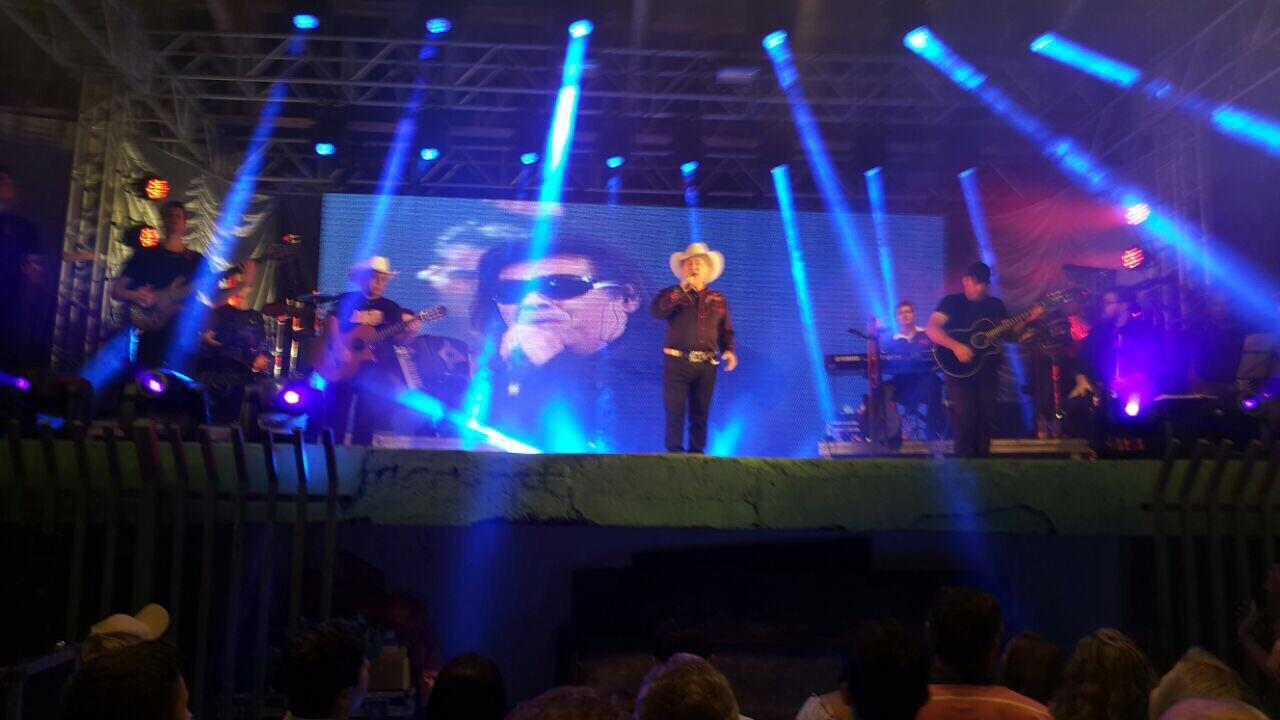 Milionário faz primeiro show após morte de José Rico (Foto: Divulgação)