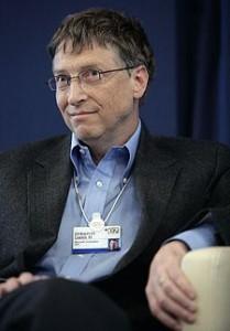 Bill Gates: sem mudança de endereço (foto fonte Wikipedia)