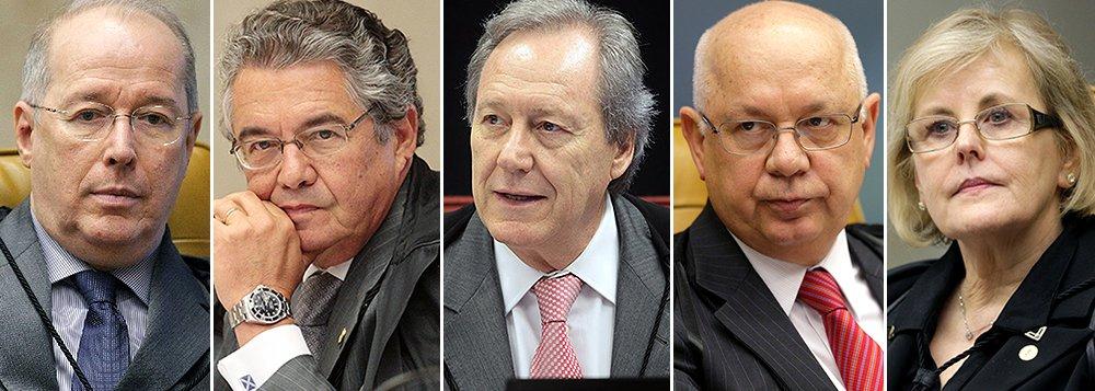 Ministros do STF que completam 70 anos no governo Dilma