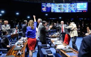 Votação da reforma no Senado