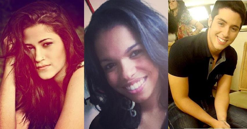 """Yasmin, Jennifer e Bruno, já já em """"Malhação"""". Crédito: Reprodução"""