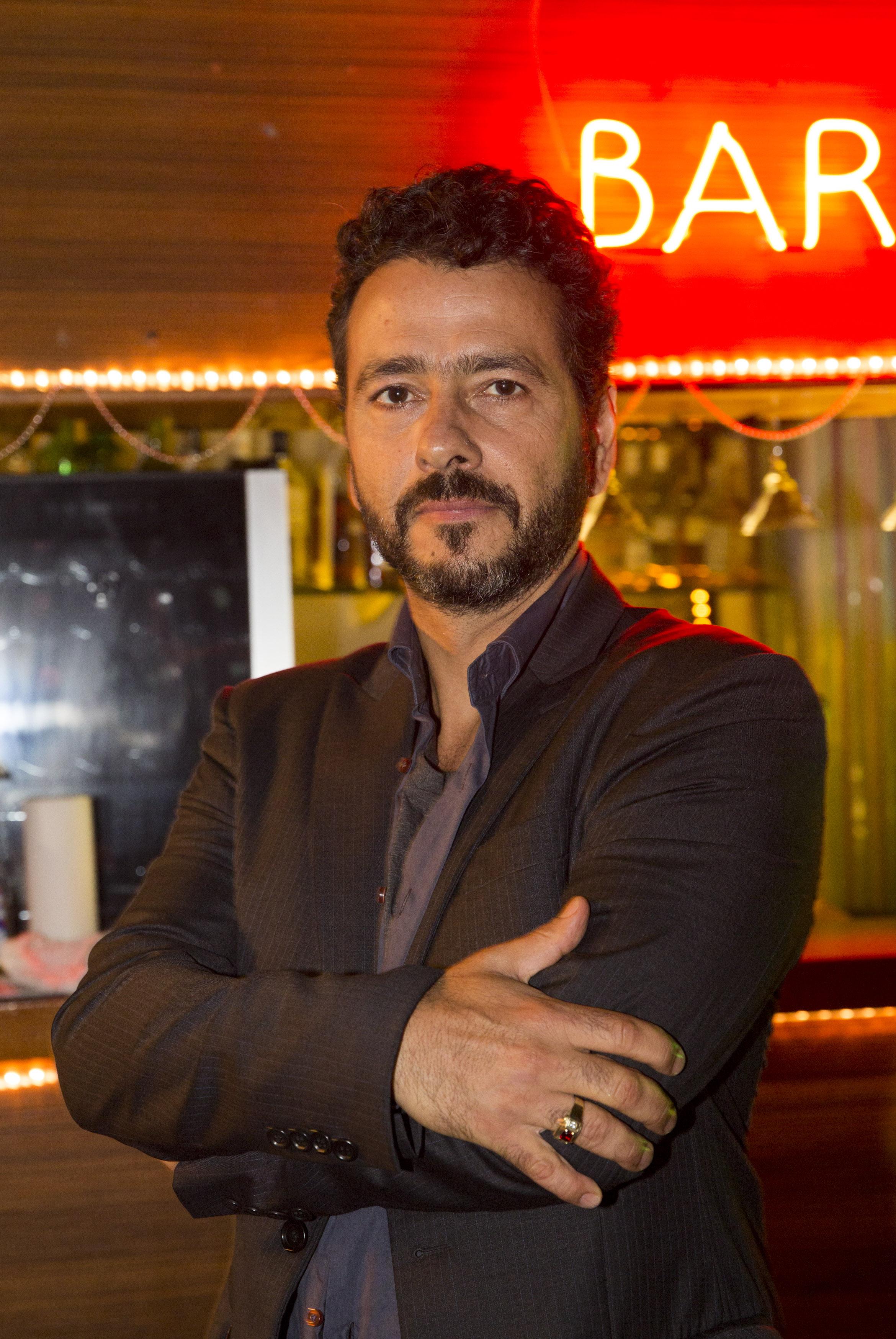 Marcos Palmeira caracterizado para série. Crédito: Juliana Coutinho/Divulgação Multishow