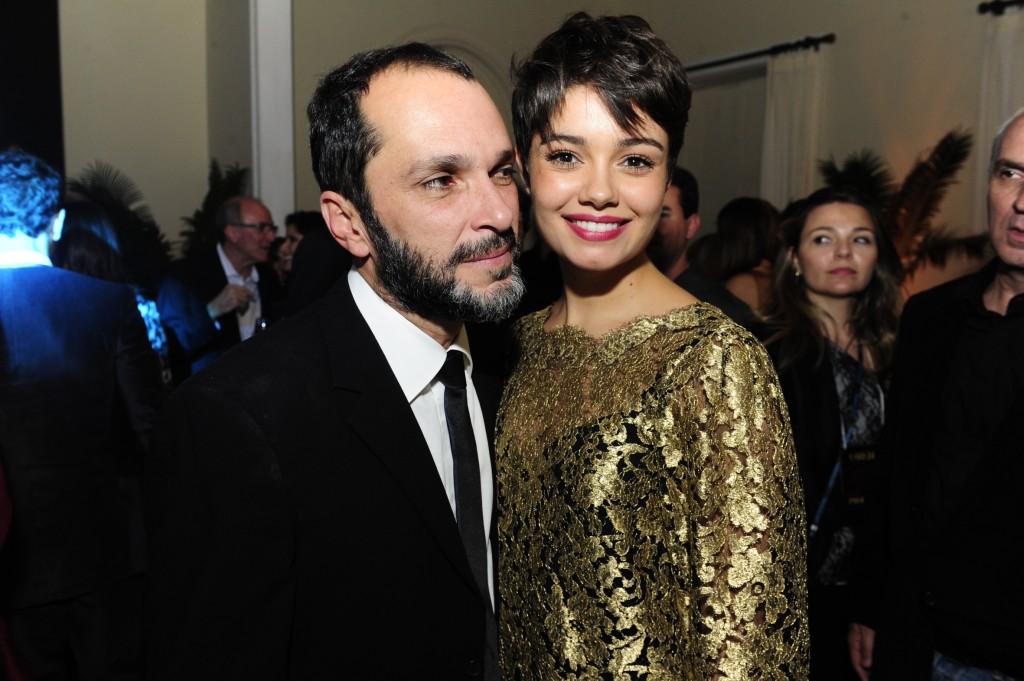 Villamarim e Sophie Charlotte, sua menina de ouro. Crédito: Divulgação/Globo