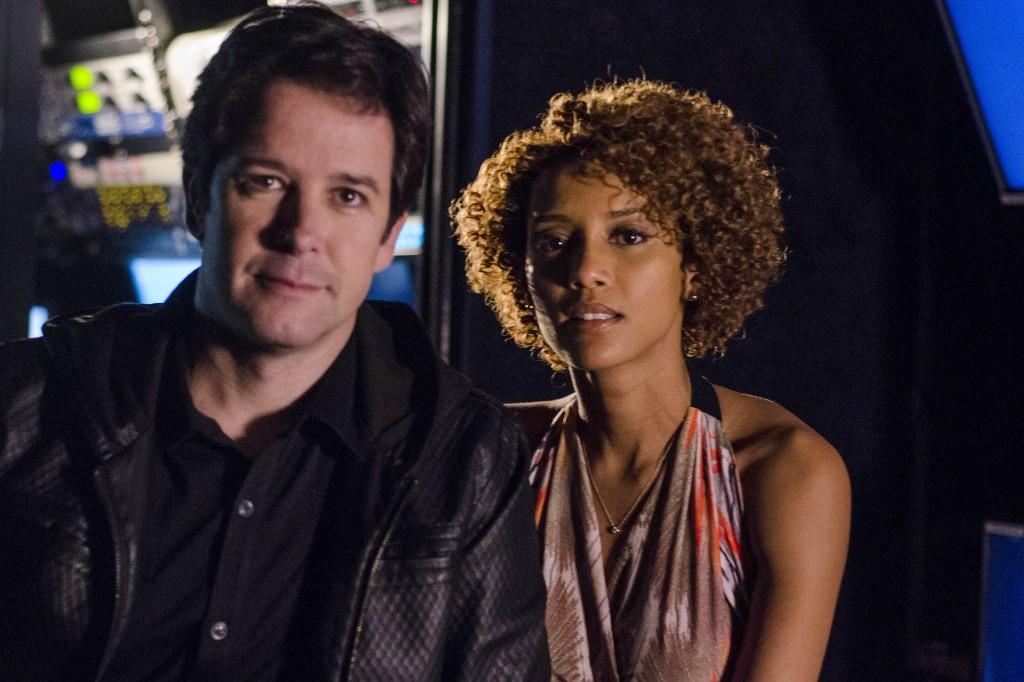 Jonas e Verônica: vem mais mais confusão por aí... Crédito: Divulgação/Globo