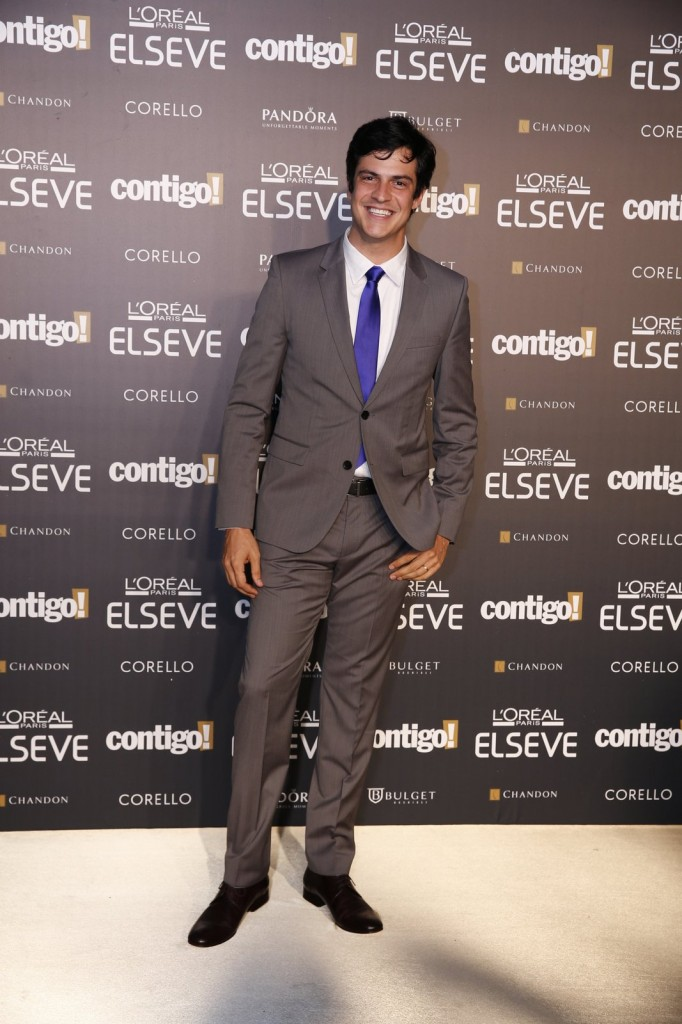 Mateus no Prêmio Contigo. Crédito: AgNews