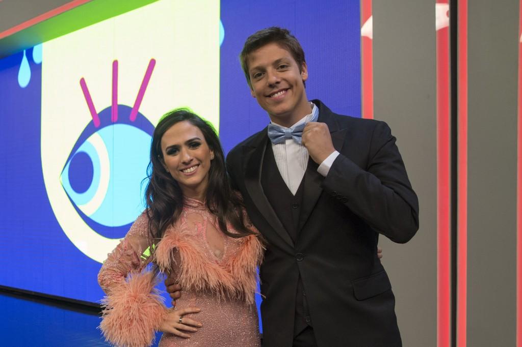 Tatá e Porchat: é sucesso, meu amor! Crédito: Divulgação/Multishow
