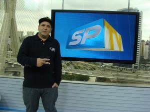 Alessando Buzo no 'SPTV'