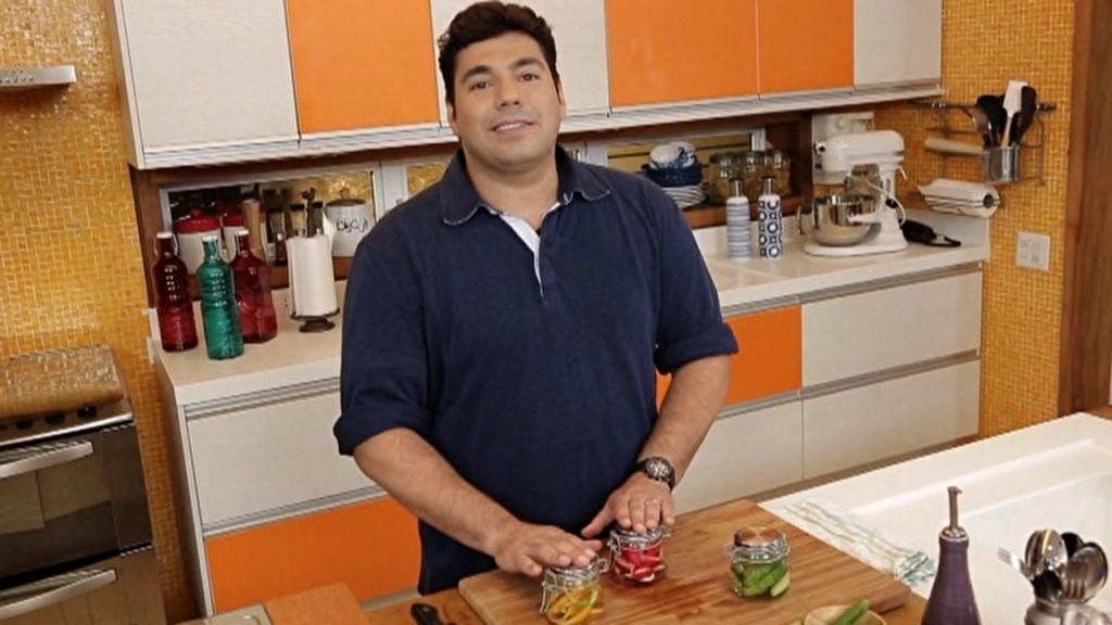 """Felipe Bronze no """"Comidinhas de Chef"""". Crédito: GNT"""