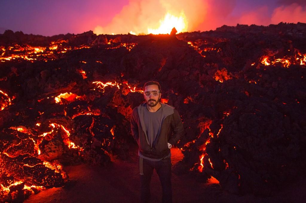 Felipe em plena erupção. Crédito: Divulgação/Multishow