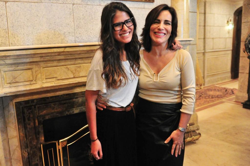 Antonia e Gloria: parceiras em tudo. Crédito: Divulgação/Globo