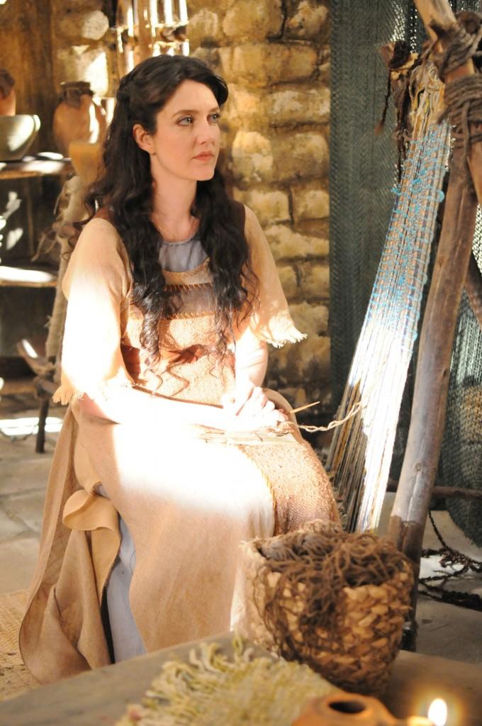 Larissa como Miriã. Crédito: Michel Angelo/Record