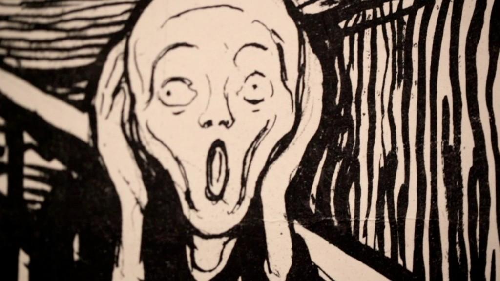 """""""O Grito"""", de Edvard Munch, exposto no Moma (NY), é destaque na estreia. Crédito: Divulgação"""