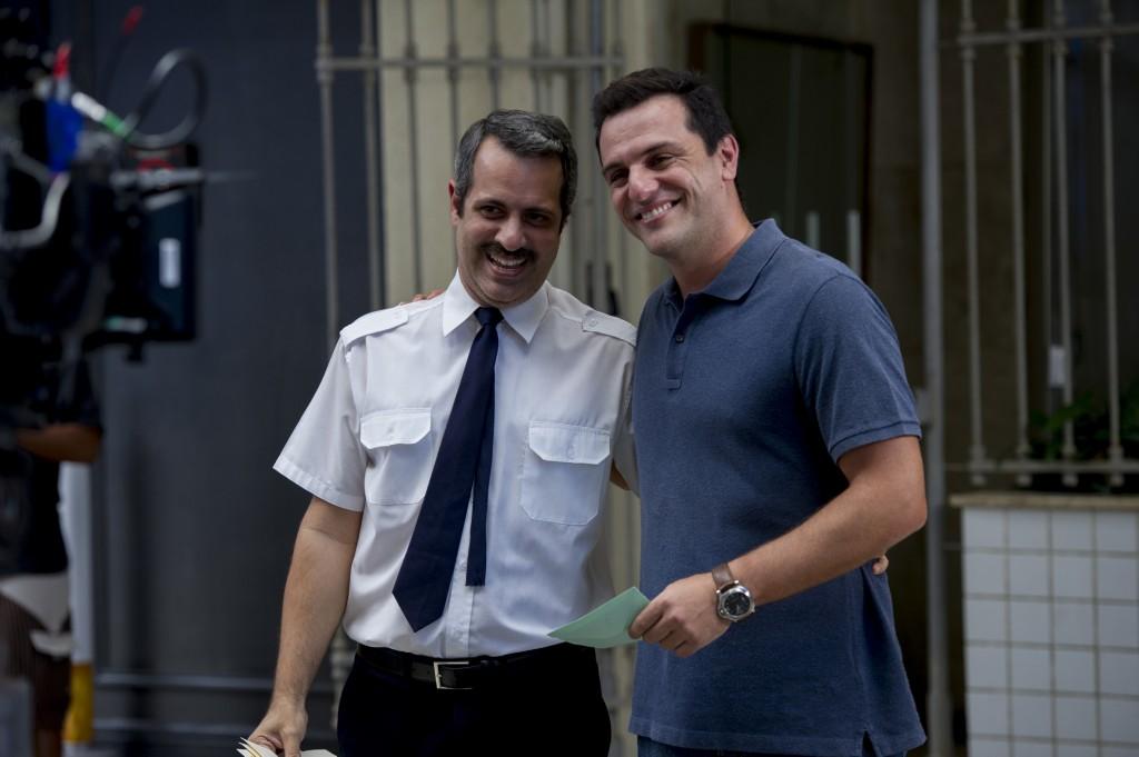 Haroldo (Mauricio Rizzo) e Rodrigo Lombardi. Crédito: Globo/Estevam Avellar