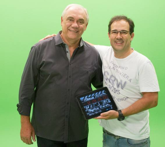 Marcelo Rezende estreia como garoto propaganda na TV