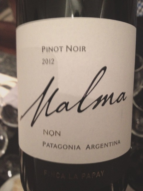 Malma NQN-pinot noir