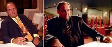 Pablo Alvarez e o ator da família Soprano: