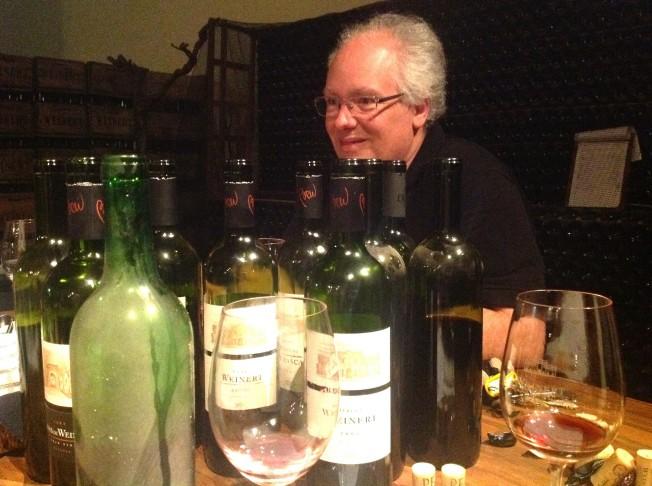 Hubert Weber: e a provas dos noves (vinhos)