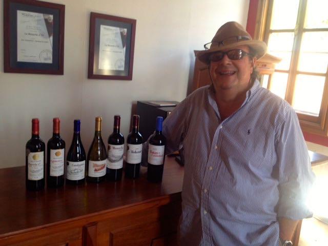 """Mauro Von Siebenthal: exibe suas crias: """"Grandes vinhos têm de ser profundos e persistentes"""""""
