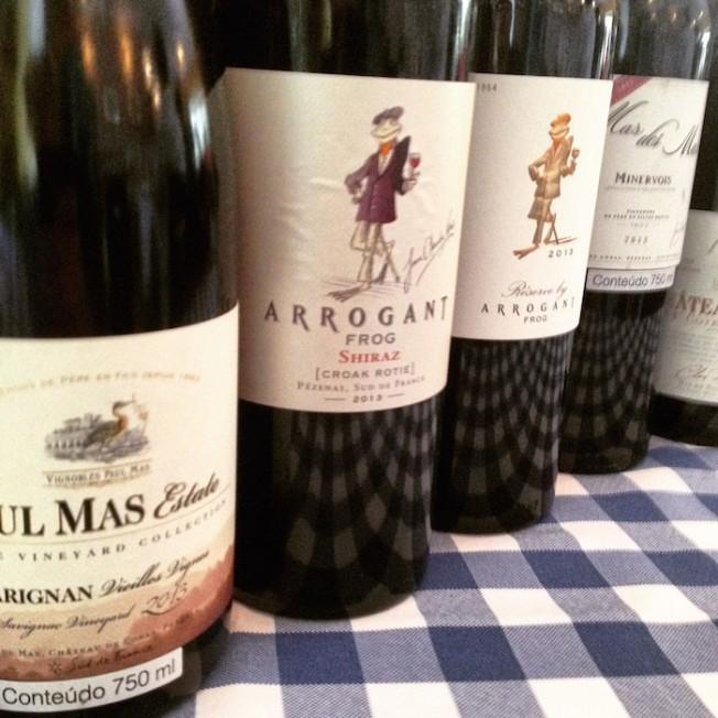 Vinhos do Languedos, sul da França: um príncipe entre os sapos!