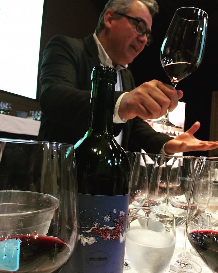Manuel Luz, o filósofo do vinho uma taça de Nosotros na mão e várias ideias na cabeça