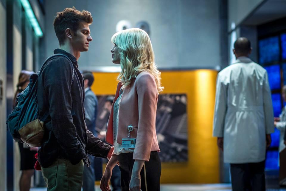 O romance entre Peter e Gwen é o grande destaque do filme (Foto: divulgação)