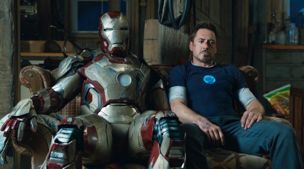 """Robert Downey Jr. em cena doo terceiro """"Homem de ferro"""": ação, humor e um plano muito bem definido valem o sucesso da Marvel no cinema"""