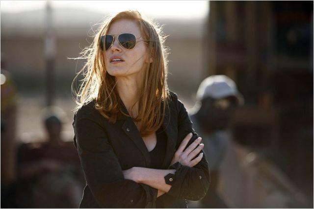 A atriz Jessica Chastain em mais um rumo surpreendente e excitante da carreira (Foto: divulgação)