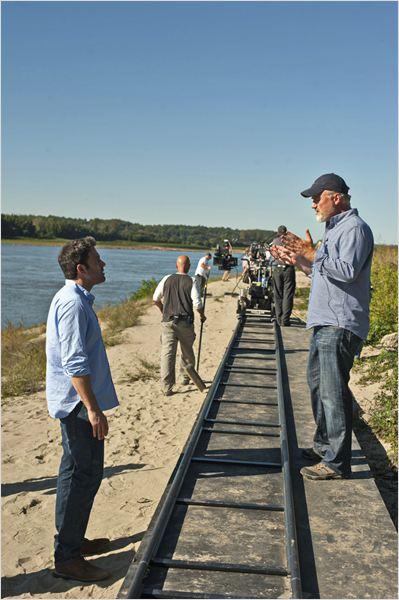 Fincher orienta Affleck no set do filme