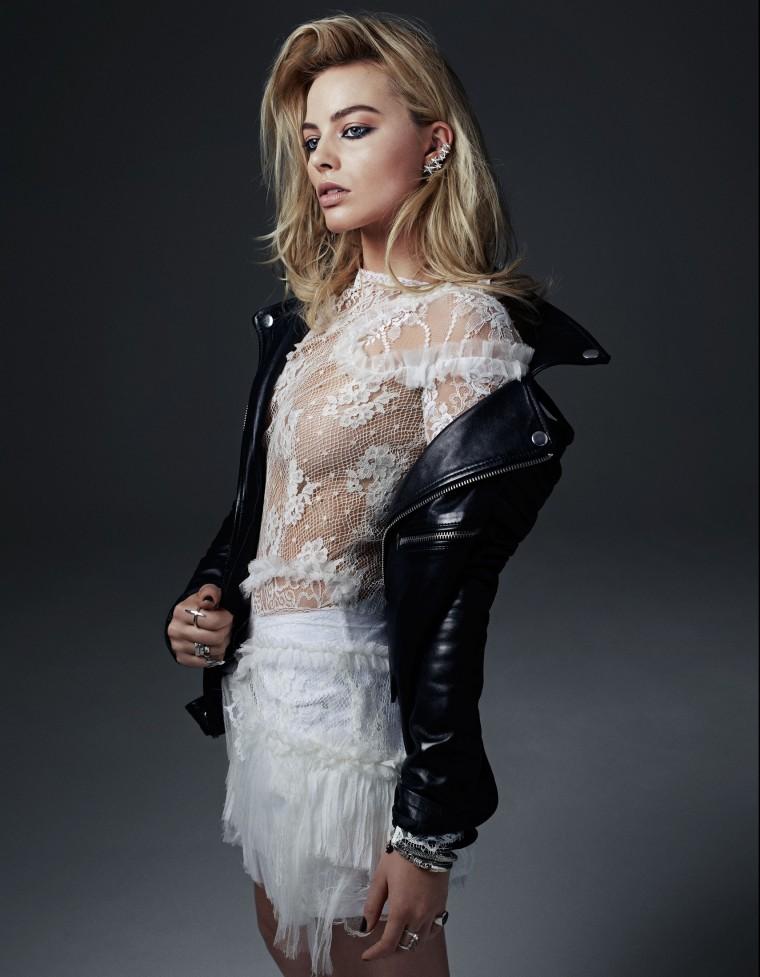 """Margot Robbie para a W Dica de filme: """"O lobo de Wall Street"""" (2013)"""