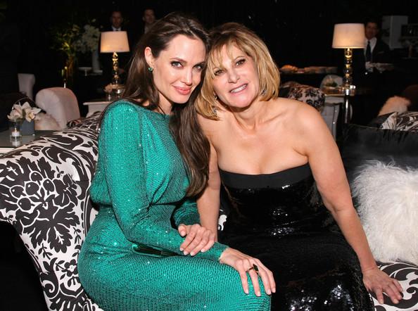 Amy Pascal em foto tirada antes de falar mal de Angelina Jolie Foto: Getty