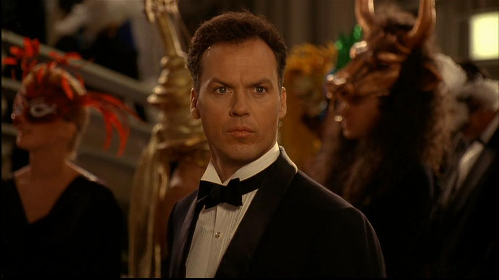 """O ator em cena de """"Batman: o retorno"""" (1992), seu último grande momento no cinema até a chegada de """"Birdman"""" (Foto: divulgação)"""