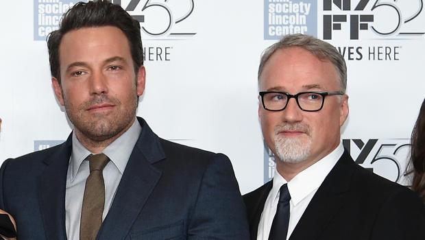 O ator Ben Affleck e o diretor David Fincher (Foto: Getty)