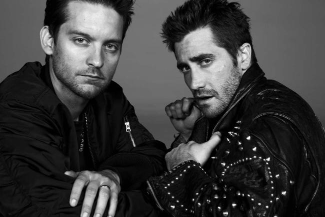 Tobey Maguire e Jake Gyllenhaal em editorial de moda do New York Times: star power ou nostalgia?