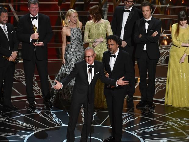 """Vitória de """"Birdman"""": filme de colhões  (Foto:AP)"""