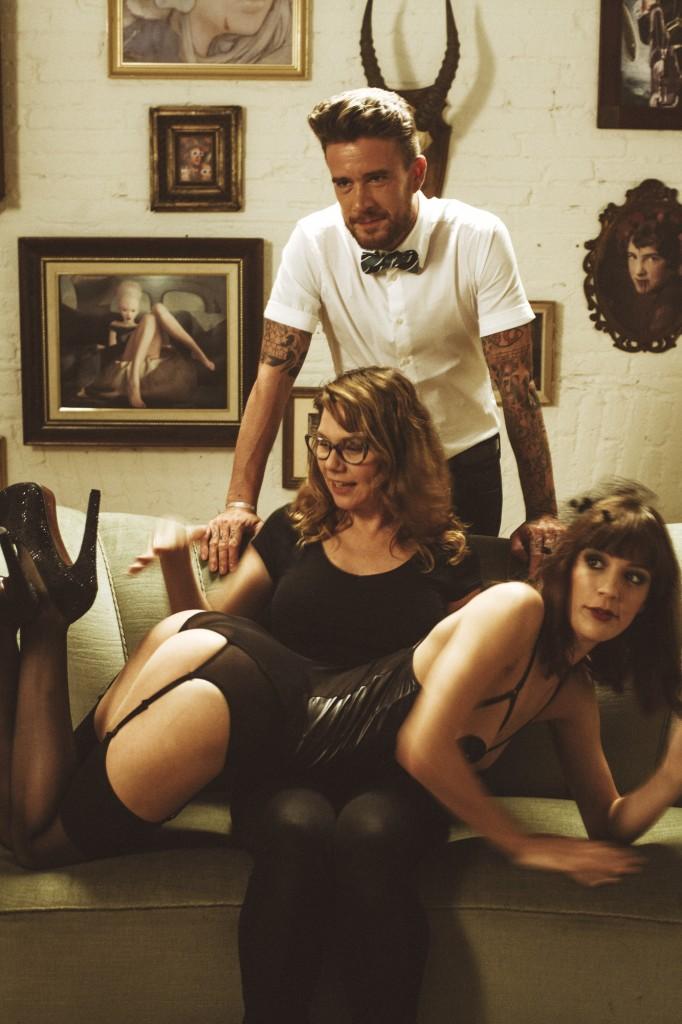 """""""The art of spanking"""" (Todas as fotos são cortesia do CineKink)"""