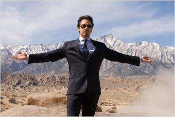 "Robert Downey Jr.  em ""Homem de ferro"""