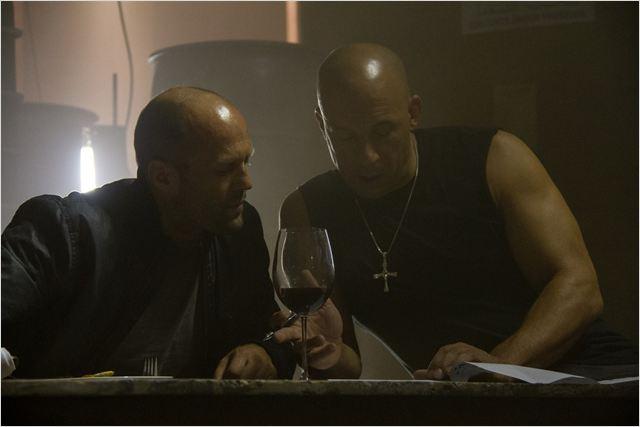 Statham e Diesel nos bastidores: encontro de titãs da ação