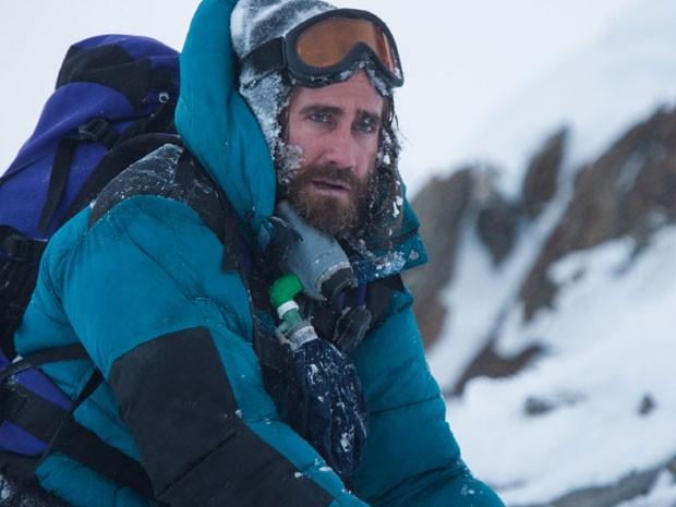 """Jake Gyllenhaal, em cena de """"Everest"""", filme que abre o festival"""