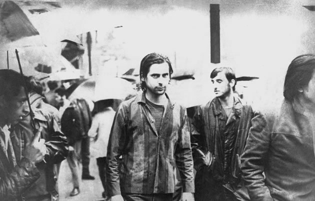 José Dirceu durante os atos de 1968 (Foto: Arquivo Cedoc UnB/Divulgação)