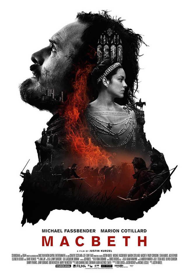 """Beleza, erudição e tragédia estão representadas neste belíssimo cartaz de """"Macbeth"""""""