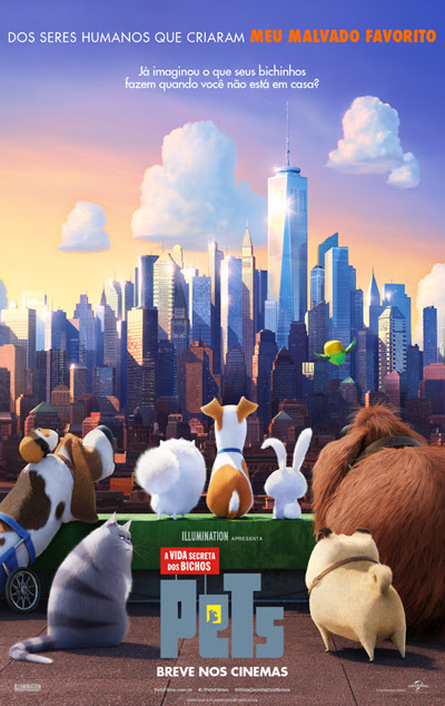 Cartaz da nova animação da Universal (Divulgação)