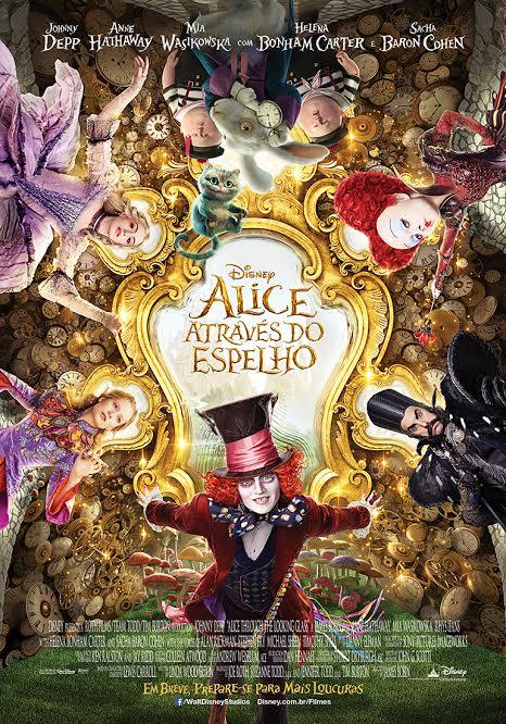 Alice atrás do espelho
